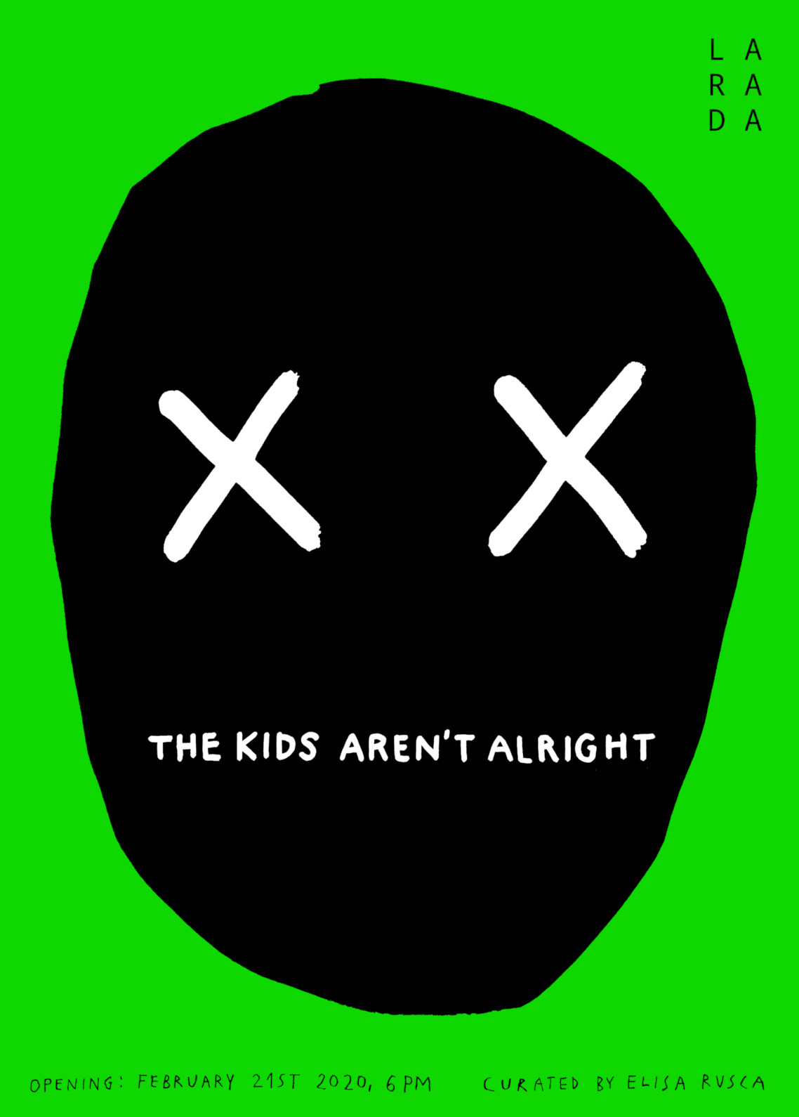 21.02.20 – 13.06.20 | THE KIDS AREN'T ALRIGHT